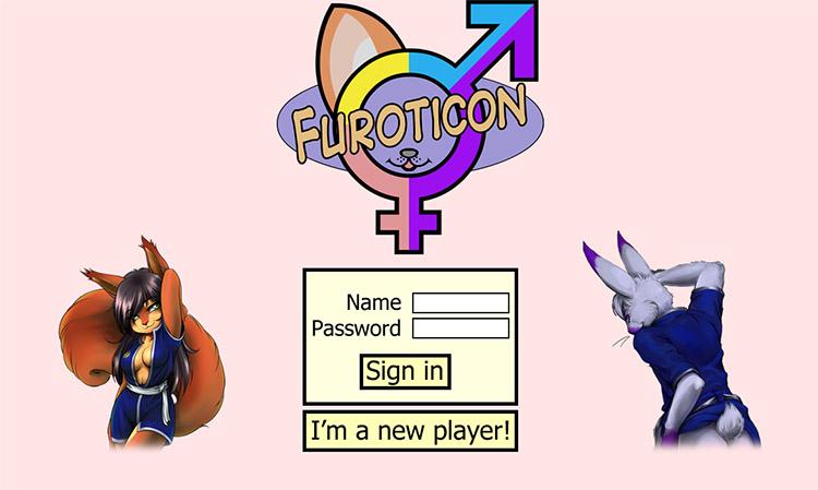 Furoticon Online Login Screen - Seppel Version